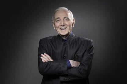 Photo de Charles Aznavour prise à Paris, le 16 novembre 2017.