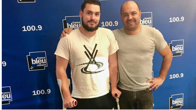 Jordy Leroy et Carlos Simoes se sont rencontrés dans une salle de handball