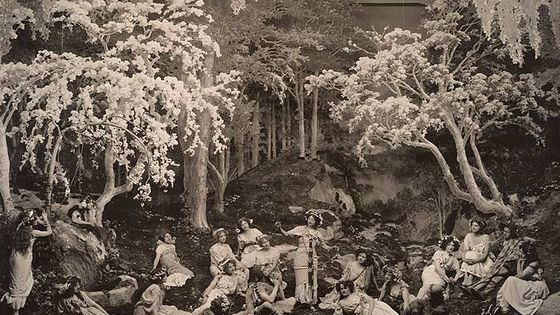 "Le musical ""The Arcadians"" (1909)"