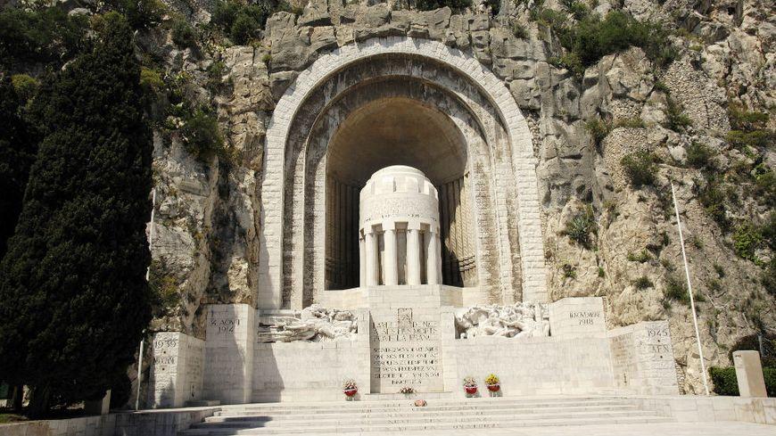 Le Monument aux morts de Rauba-Capeù à Nice