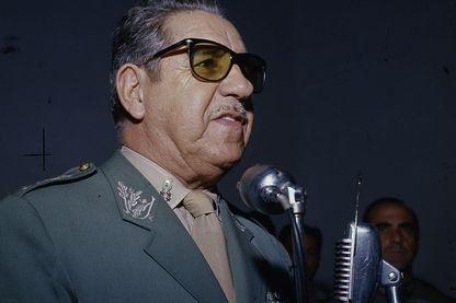 Le maréchal Arthur da Costa e Silva, président de la République du Brésil (1967-1969)
