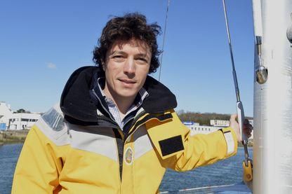 """Corentin de Chatelperron, ingénieur français, aventurier et fondateur du bateau-projet-expédition """"Nomade des mers"""""""