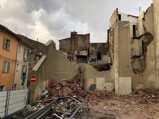 Quartier Gitan de Perpignan.