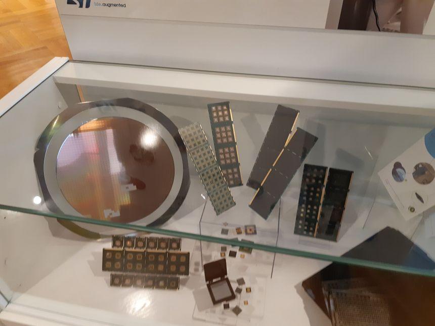 ST Microelectronics fabrique des puces