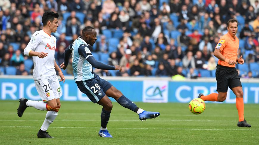 Hervé Bazile a signé sa deuxième passe décisive, sur le premier but havrais