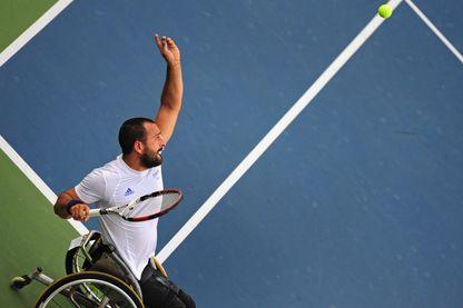 Michaël Jérémiasz, ancien champion paralympique et vainqueur de plusieurs tournois du Grand Chelem est ambassadeur de Paris 2024