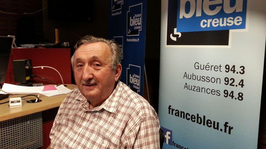 Jean-François Ruinaud, président de la Fédération de chasse en Creuse