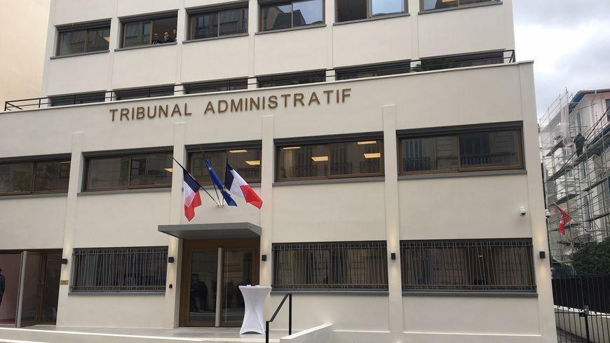 Le nouveau Tribunal Administratif de Nice, 18 avenue des Fleurs.