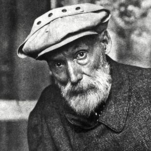 Photo non datée du peintre Auguste Renoir.