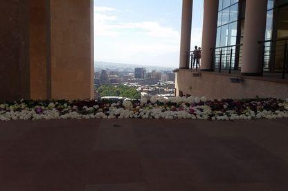 La Maison Charles Aznavour sur les hauteurs d'Erevan