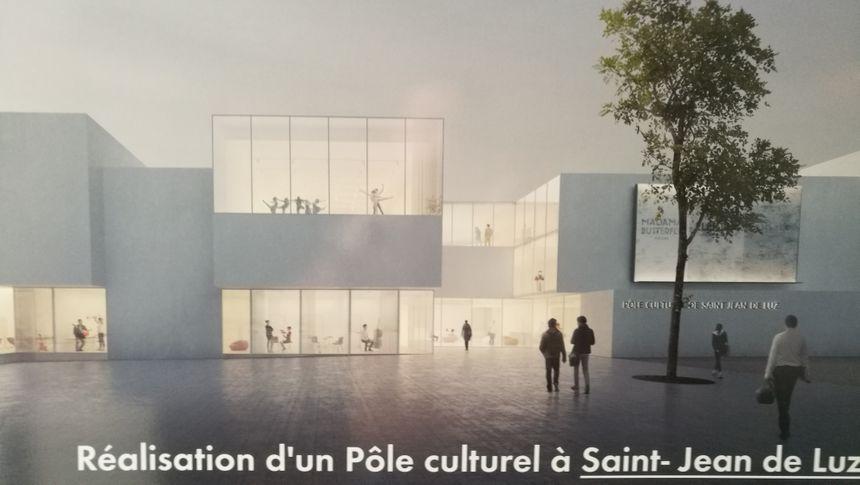 Le projet de pôle culturel de Saint Jean de Luz.
