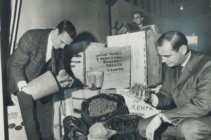 Saisie de Marijuana à Toronto en 1968