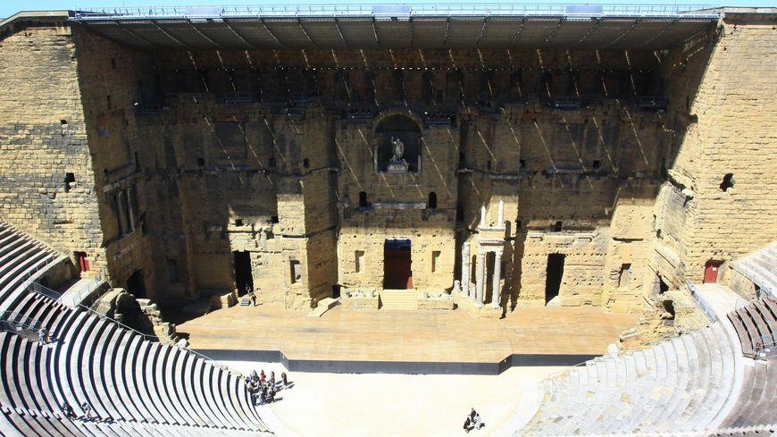 L'amphithéâtre antique d'Orange