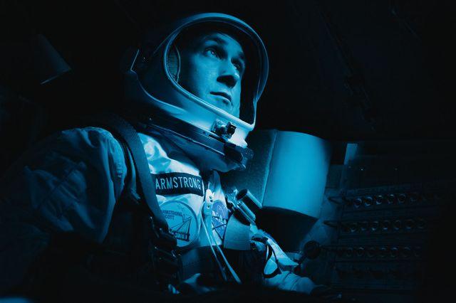 """Ryan Gosling, jouant Neil Armstrong, le premier homme à avoir posé le pied sur la Lune en 1969, dans """"First Man"""" de Damien Chazelle !"""