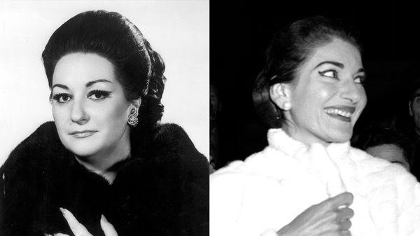 VIDEO - Montserrat Caballé et Maria Callas : divas et amies...