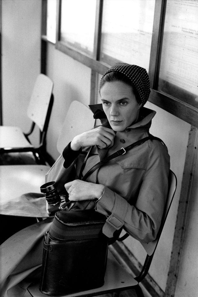 Martine Franck photographiée par Henri Cartier-Bresson, Venise, Italie, 1972 © Henri Cartier-Bresson / Magnum Photos