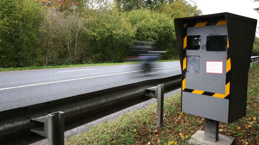 Les motards protestent contre la répartition de l'argent des amendes des radars