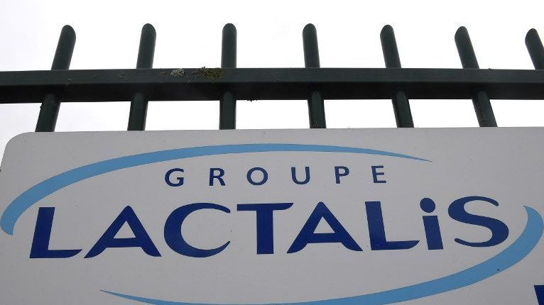 Le Groupe Lactalis dont le siège est à Laval.