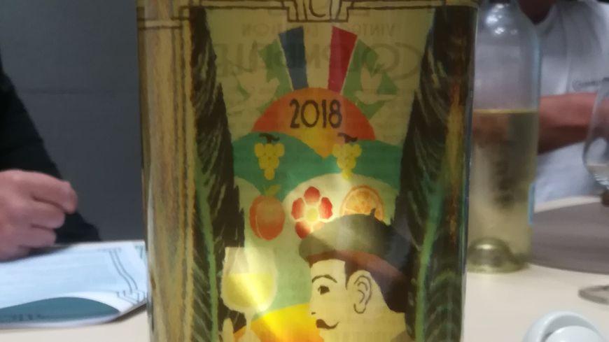 Cuvée Colombelle 2018... avec l'étiquette dans la bouteille !