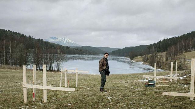 """Matt Dillon sur le tournage de """"The House That Jack Built"""" de Lars von Tirer (2018)"""