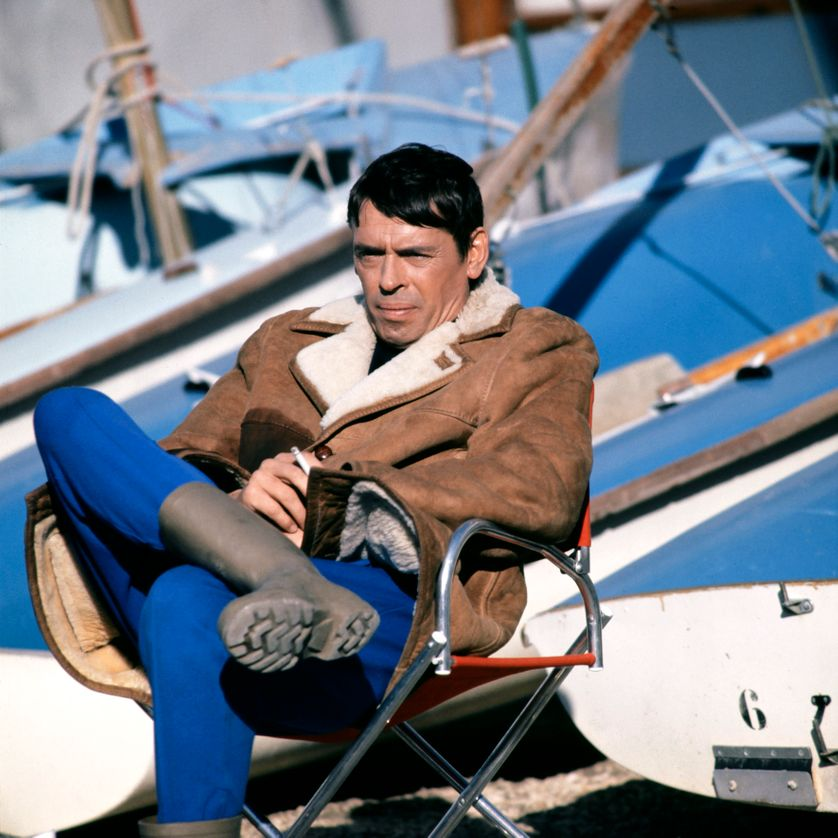 Jacques Brel, sur le port de Marseille en 1970