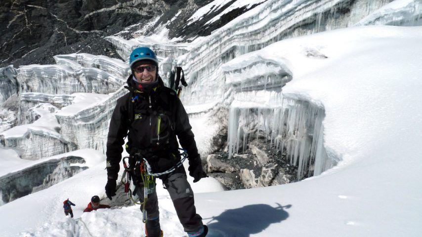 Marcelin Hellequin s'attaque à l'Himalaya pour la recherche contre la Muco