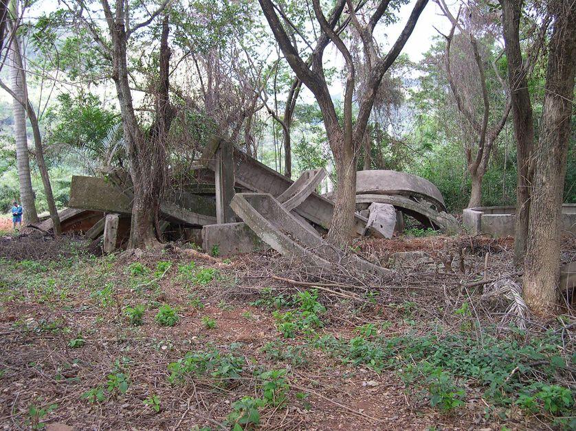 La baie des Cochons: vestiges des missiles soviétiques installés à Cuba en 1962