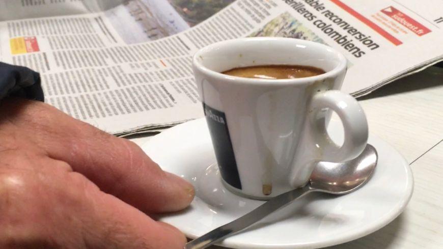 un café de bon matin...