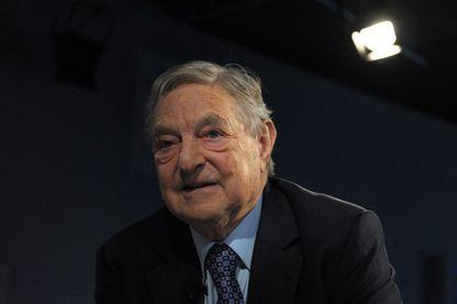 George Soros, financier et milliardaire américain d'origine hongroise