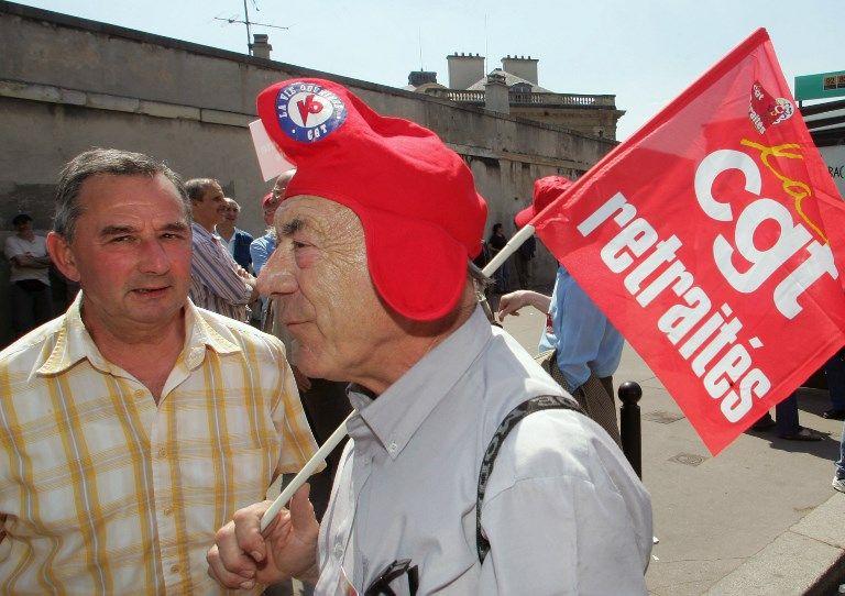 Manifestation de retraités à Paris pour réclamer plus de pouvoir d'achat et une meilleure prise en charge de la perte d'autonomie.