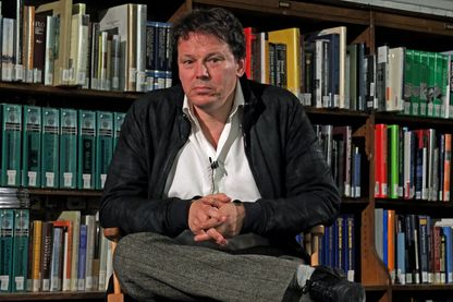 L'anthropologue et économiste américain, David Graeber, le 19 septembre 2014 à New-York.