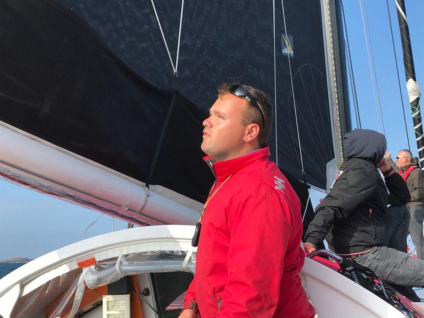 Nils Boyer, le plus jeune skipper de ce Rhum