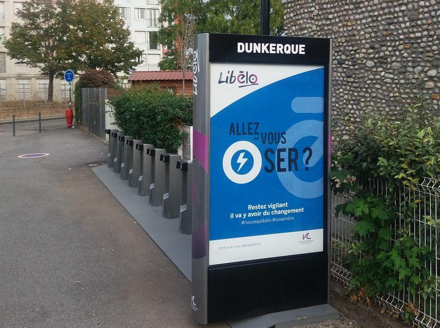 """""""Allez-vous oser ?"""", slogan de PBSC à découvrir dans les stations Libélo dès maintenant (ici dans Valence)"""