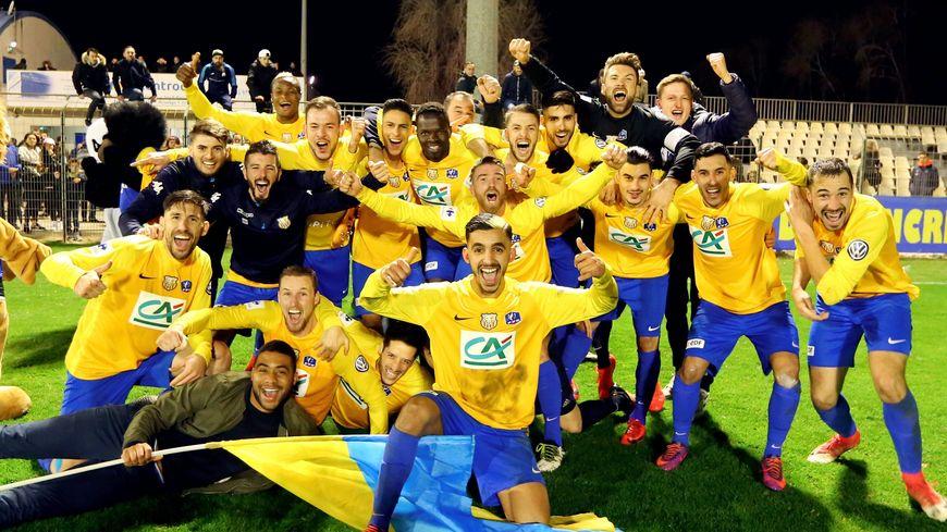 Canet-Roussillon F.C était parvenu jusqu'au 16 ème de finale de la Coupe de France 2017-2018