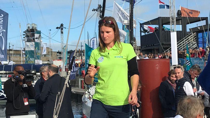 La navigatrice bretonne, Morgane Ursault-Poupon