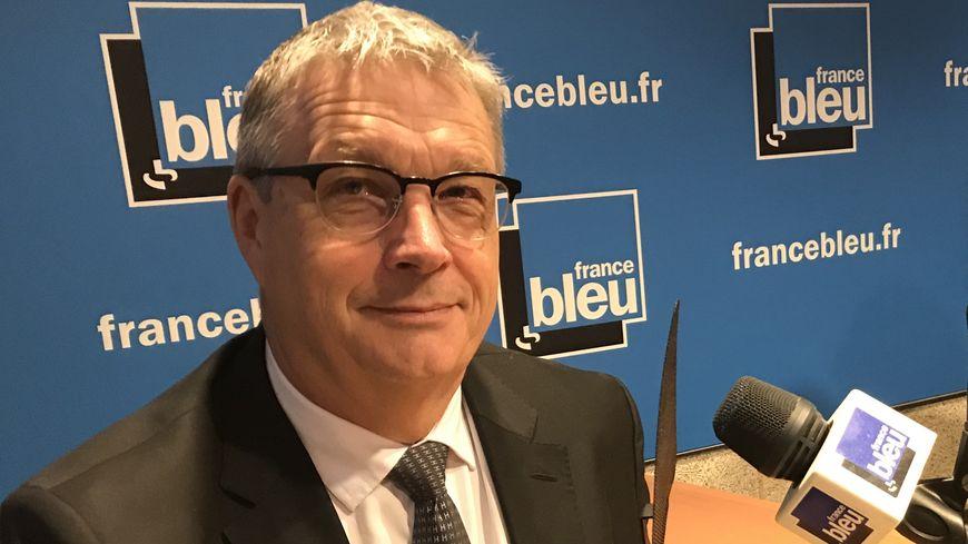 Jean-Pierre Barbier, président du Conseil Départemental de l'Isère