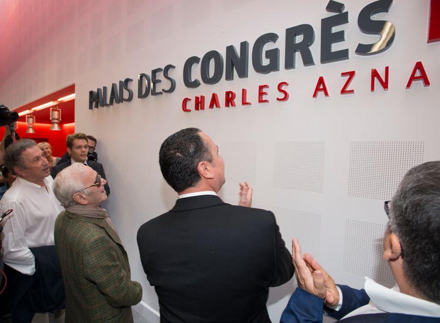 Charles Aznavour à Montélimar le 27 septembre 2013