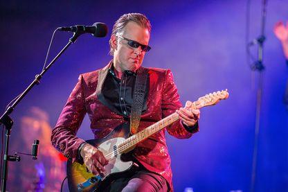 Joe Bonamassa, chanteur, et guitariste de blues rock américain, en concert à Humphrey's le 27 juillet 2018 à San Diego, en Californie.