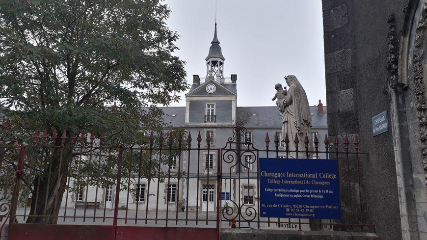 Le Petit Séminaire de Chavagnes-en-Paillers accueillait 400 séminaristes à l'époque