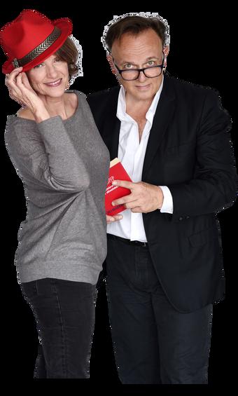 Patricia Martin et Eric Delvaux (image banière)
