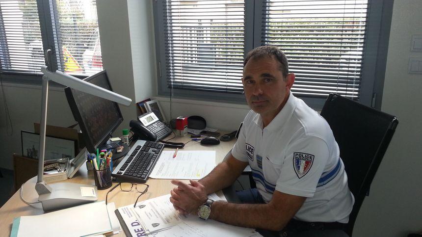 Eric Pagenaud, chef de la police municipale de Bourges. - Radio France