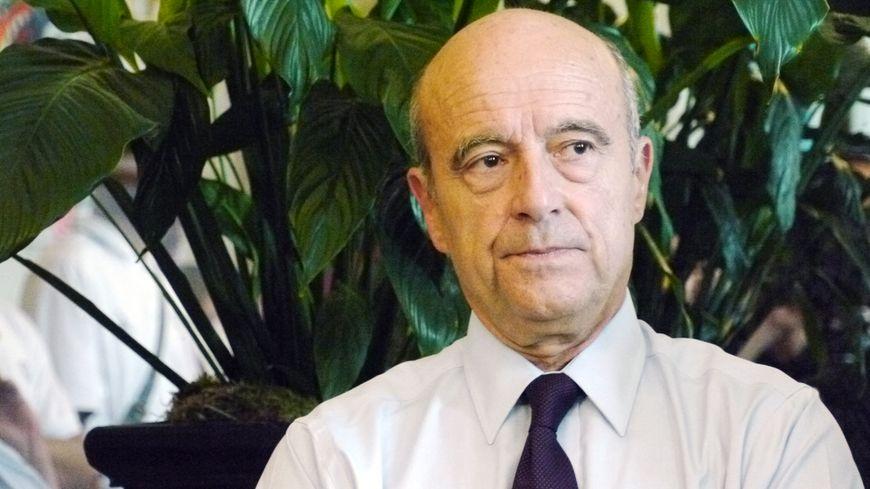 Alain Juppé le maire de Bordeaux et président de la Métropole
