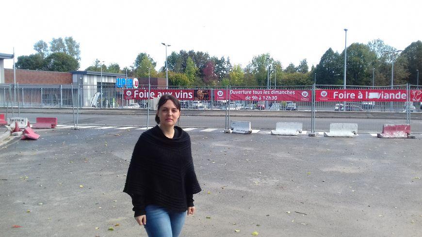 Sonia Ricquebourg, représentante des parents d'élèves du collège Edouard Lucas