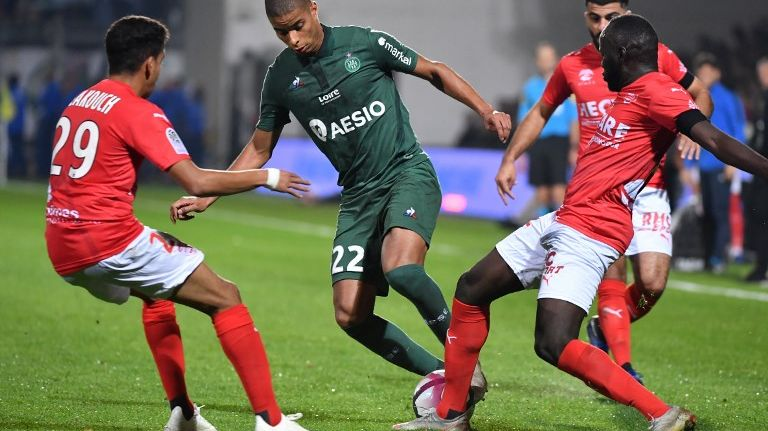 Les Verts ont eu du mal contre l'effectif nîmois lors de cette 11e journée de Ligue 1