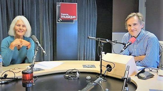 France Musique, studio 131... Brigitte François-Sappey & Philippe Venturini