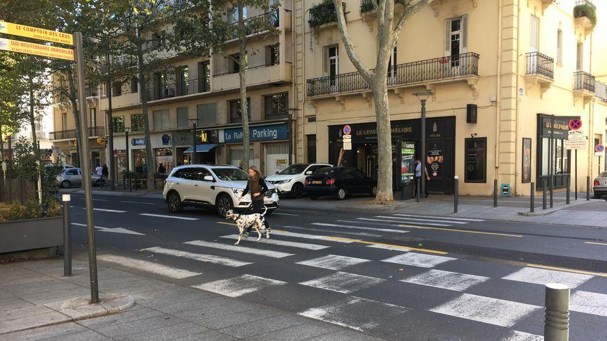 Le Boulevard Clémenceau, l'un des plus dangereux de Perpignan