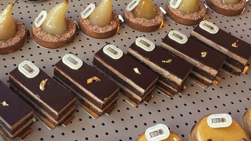 Tartes, gâteaux ou chouquettes : chez Mazet toutes les patisseries sont confectionnées à base de praslines