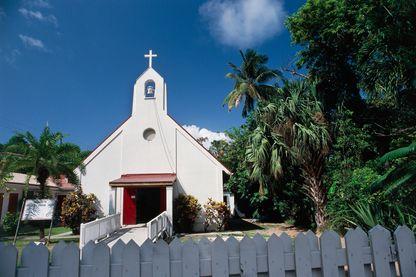 Église évangélique à Sainte-Croix, dans les îles Vierges des États-Unis