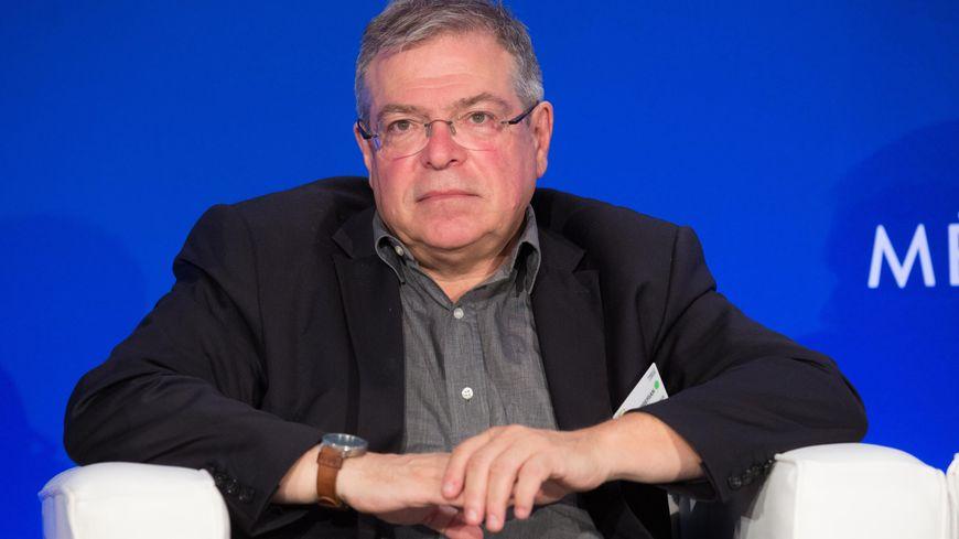 Vanick Berbérian, maire de Gargilesse et président de l'association des maires ruraux de France