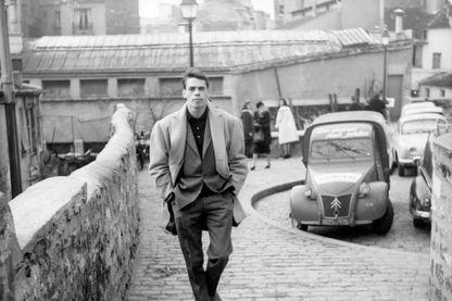Jacques Brel, photographié en 1970